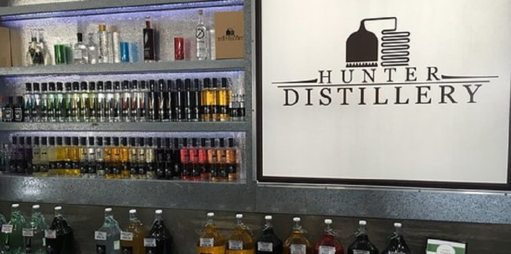 Spirits and Liqueurs at the Hunter Distillery
