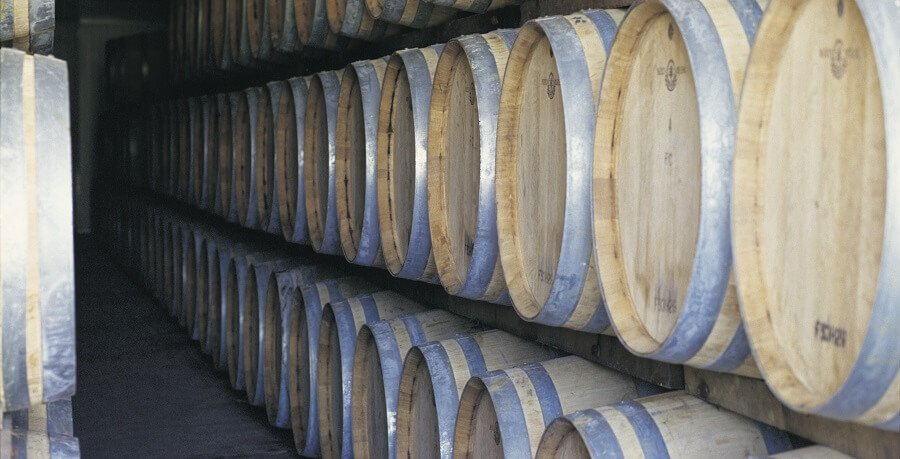the hunter valley wine barrels