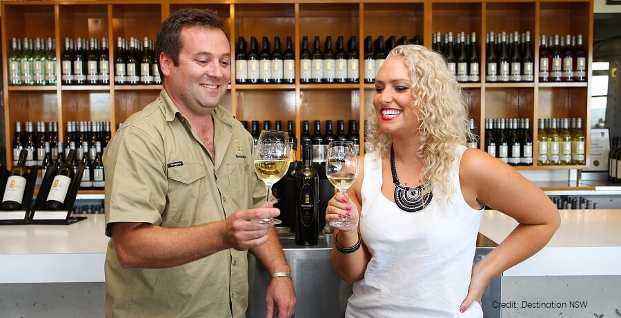the hunter valley wine tasting